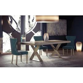 Espectacular conjunto de mesa y sillas.
