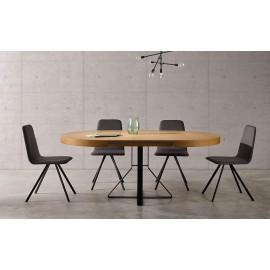 Mesa y silla Haya/Roble/Nogal